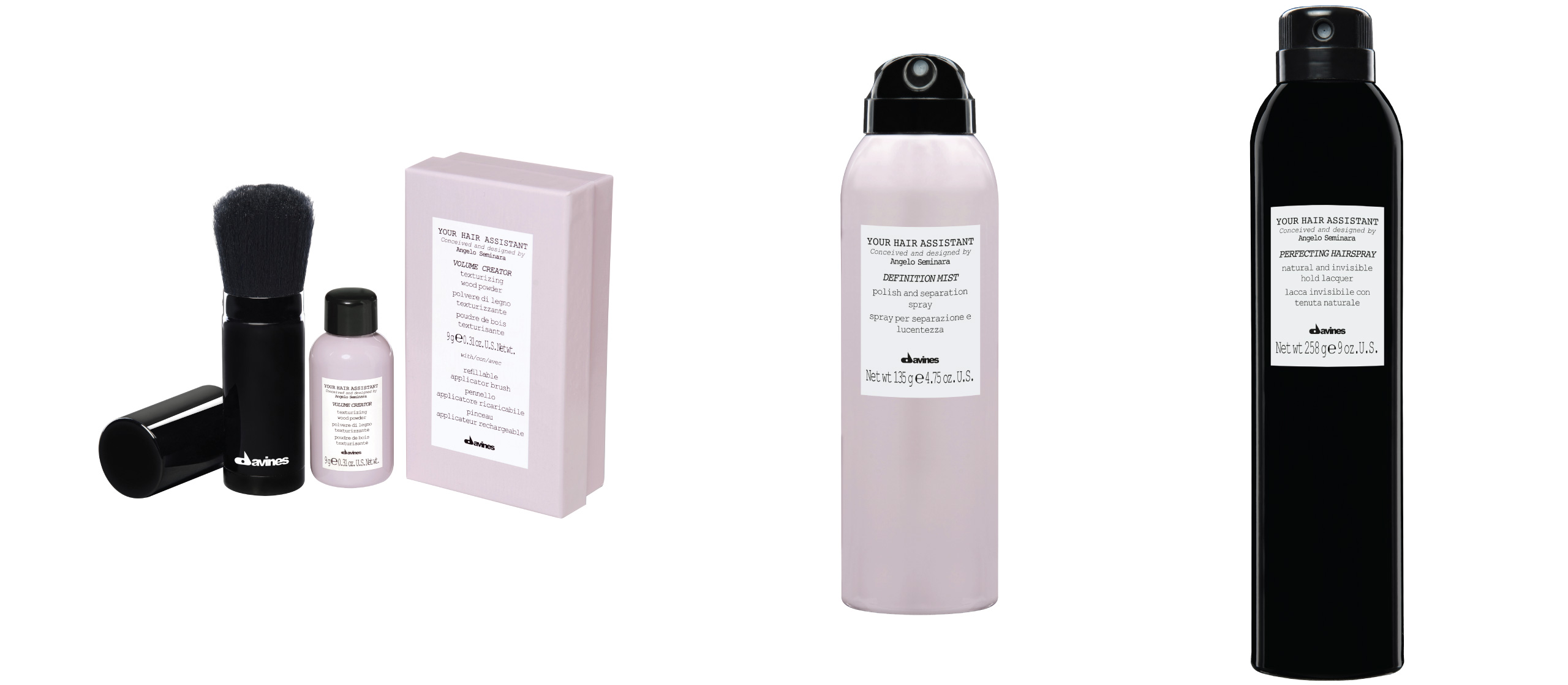 Davines Your Hair Assistant Finishing products