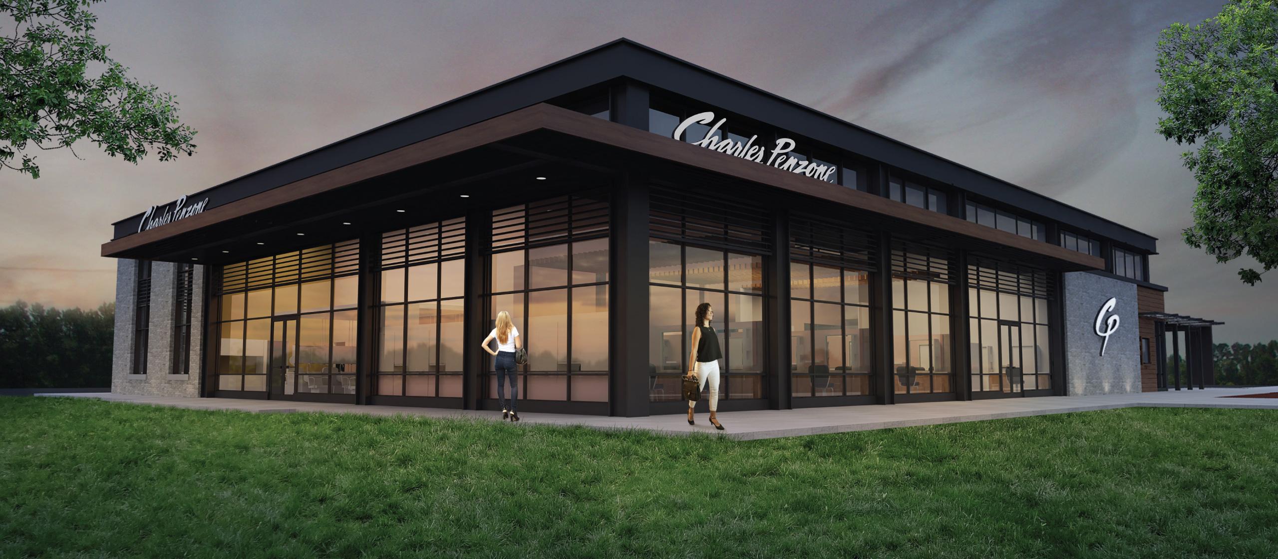 NEW Charles Penzone Dublin Salon Exterior