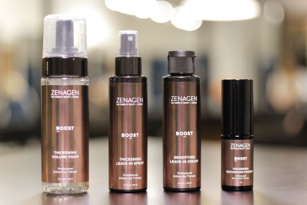 NEW Zenagen Boost - Now Available at The Charles Penzone Grand Salons and MAX THE SALON
