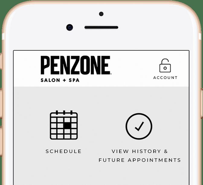 PENZONE Salons + Spas | Columbus OH | Hair, Makeup, Massage