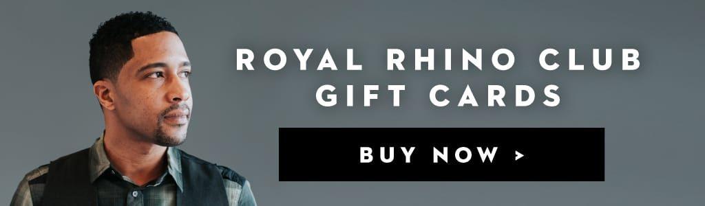 Royal Rhino Club Gift Cards