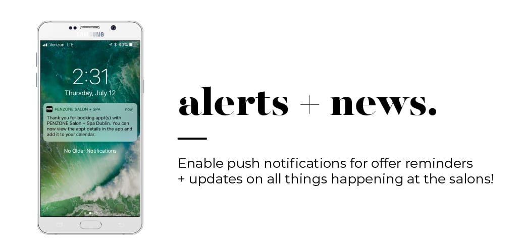 PENZONE App Alerts + News