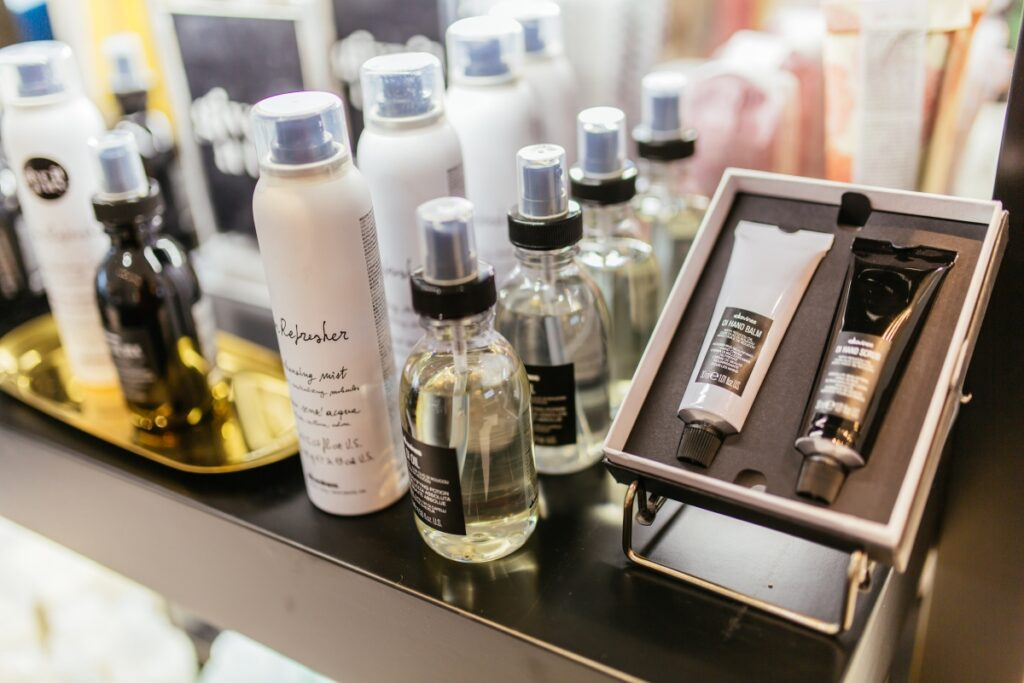 Davines Hair products at Penzone Salons + Spas