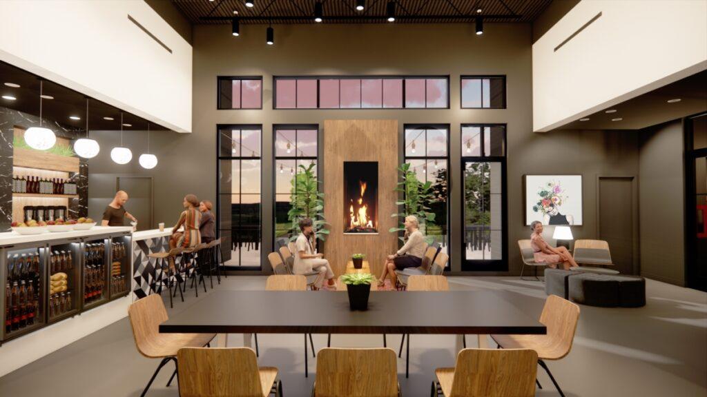 PENZONE Gahanna/New Albany social room bar + cafe. Launching Spring 2022.