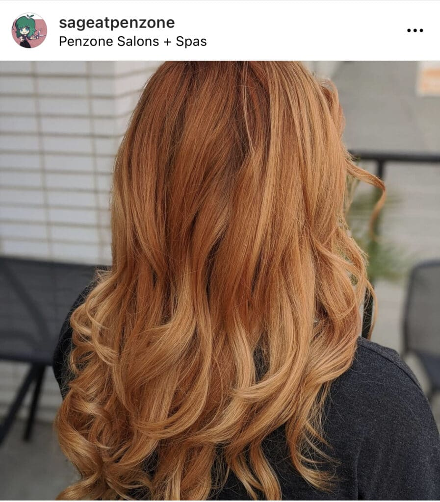 Copper Hair by Sage