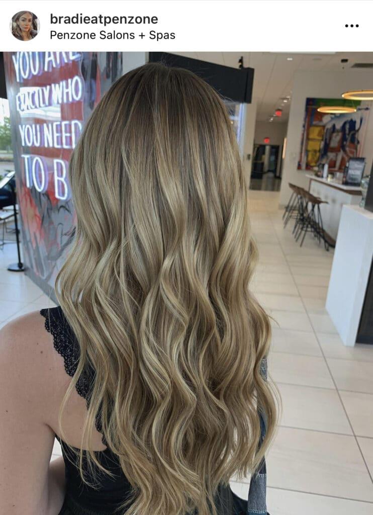 Golden Blonde by Bradie